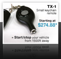 Tx-1 Small Key Chain Remote, Starting at $199.99